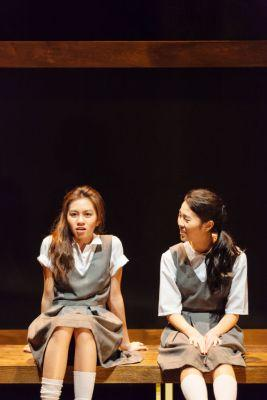 Claire Chung (L) and Audrey Teong (R)