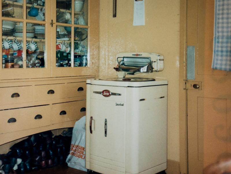 The couple's kitchen is more than 50 years old (Picture: SWNS)