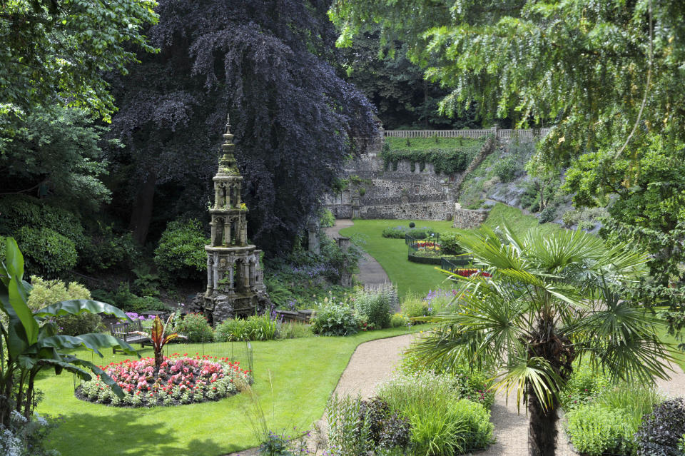 The Plantation Garden is known as Norwich's 'secret garden' by locals (Getty Images)