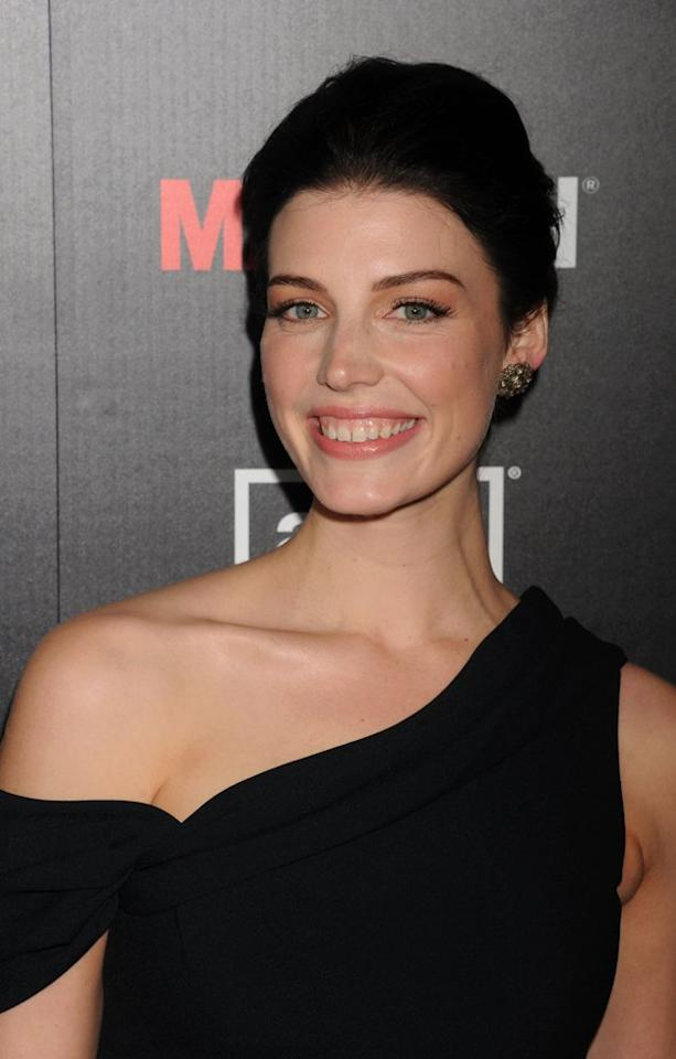 """Jessica Pare is one of the hottest stars on Emmy-favorite """"Mad Men,"""" and is still proudly rocking her gap-toothed smile. """"I forget about them because they're in my face and they do their job just great,"""" she jokes, """"I never get anything stuck in them."""""""