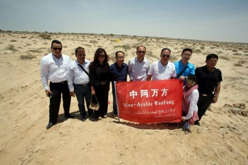 Chinese investors launch Oman industrial project