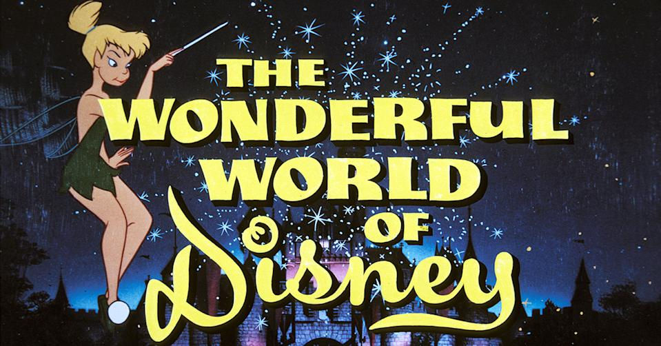 If you were a child Boomer watching TV on Sunday night, this title card meant lifelong memories were on the way. (Photo: Disney+)