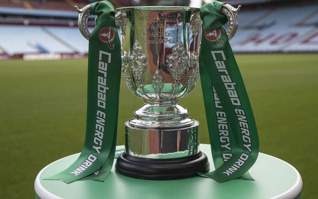 The teams are being drawn in Beijing Carabao Cup draw is indicative of the total disrespect shown to football fans West Brom v Man City​ Manchester United v Burton Albion​ Arsenal v Doncaster Rovers​ Chelsea v Nottingham Forest ​ Manchester United begin the defence of the Carabao Cup by hosting Burton in the third round. United, who beat Southampton in last season's Wembley final, will welcome Nigel Clough's Championship side to Old Trafford after the 40-minute draw was made in Beijing this morning. Jose Mourinho's side have only ever played the Brewers twice before, when the then non-league club earned a famous FA Cup replay after drawing 0-0 at Old Trafford, before United won 5-0 at the second attempt. League One Doncaster have been rewarded for beating Championship Hull with a trip to the Emirates to face Arsenal, while the other third-tier club Bristol Rovers visit Wolves. Carabao Cup third round draw 2014 winners Manchester City have been drawn away at West Brom, eight-time winners Liverpool visit Leicester, Chelsea will play Nottingham Forest at home and Everton host Sunderland. Tottenham will play the winner of Barnsley versus Derby, Burnley's record signing Chris Wood will have a quick reunion with his former club Leeds as the Yorkshire side head to Turf Moor and Huddersfield make a repeat journey to Crystal Palace, the scene of their opening-day win in the Premier League. Elsewhere West Ham taken on Bolton, Reading host Swansea, Stoke head to Bristol City and Brighton make the trip along the south coast to Bournemouth. The draw was made in China at 11.30am local time, to try and boost the EFL's exposure in Asia, though it was not televised after mishaps in the last two draws. The first-round draw, held in Thailand where the makers of energy drink Carabao are based, showed Charlton playing two teams in the on-screen graphic. Then former England winger John Salako, conducting the second-round draw, got confused about which teams were playing at home or away. Although starting late, there were no such embarrassments this time around, with each tie revealed on Twitter around two minutes apart on Twitter. Ties to be played week commencing September 18. 5:16AM And that's it! Burton and Doncaster will be vying to pull off huge upsets when they face Man United and Arsenal away from home.  West Brom presents a tricky away tie for Man City, while on the south coast there is another Premier League clash as Bournemouth host Brighton. Congratulations on staying awake...  #BHAFC were the final team to be drawn out in the @Carabao_Cup third-round draw. Helpful at 5am... ����— BHAFC ⚽️ (@OfficialBHAFC) August 24, 2017 5:09AM And... Bournemouth v Brighton.  5:07AM And... Tottenham Hotspur v Barnsley or Derby County 5:04AM And... Crystal Palace v Huddersfield Town.  5:01AM And... West Ham v Bolton. 4:58AM And... Chelsea v Nottingham Forest. 4:54AM And... Aston Villa v Middlesbrough.  4:52AM And... Reading v Swansea City. 4:49AM And... Bristol City v Stoke City.  4:48AM And... Arsenal v Doncaster Rovers. 4:47AM And... Burnley v Leeds United.  4:46AM And.... Wolves v Bristol Rovers.  4:43AM And... Brentford v Norwich City. 4:40AM And... Manchester United v Burton Albion.  4:39AM And... Leicester v Liverpool.  4:38AM And... Everton v Sunderland. 4:37AM And we're off! West Brom v Man City. 4:36AM Don't worry... I haven't fallen asleep. We are, indeed, still waiting... 4:32AM A little of both probably The anticipation is killing me, either that or sleep deprivation #CarabaoCup— Connor Baxter (@connorbaxter31) August 24, 2017 4:29AM Who's hosting? No, they've got @realDonaldTrump with Saint and Greavsie #CarabaoCuphttps://t.co/aLdrkER48H— Jaap The Bear (@JaapTheBear) August 24, 2017 4:27AM What a tease... The #CarabaoCup Round Three draw is approaching! Su Dong is giving a brief presentation before getting things under way. pic.twitter.com/asSiP8A4tt— Carabao Cup (@Carabao_Cup) August 24, 2017 4:25AM Not bad for everyone Lunchtime in Australia has never been so exciting #CarabaoCup— #kingkv (@JasonKVOfficial) August 24, 2017 4:23AM A technical hitch? Never had to wait like this when it was the Rumbelows Cup.  4:21AM General mood The voice of a nation. So when is this draw happening? I want to go to sleep. #CarabaoCup— Lily Urbina (@Lily90) August 24, 2017 4:19AM Oh the waiting... I'd add some tweets about the delay here, but most of them involve expletives...  4:15AM What's that sound? Why, I think it may be the rustle of balls about to be picked from a bag... Possibly. Who knows how they'll be drawing the teams, and we'll probably never know... 4:12AM The excitement! Well I'm awake at this point may as well stay up for the #CarabaoCup draw— Lunif (@LukeFrewin) August 24, 2017 Woke up at 4:07 cos I needed a piss so might as well follow the #CarabaoCup draw. A sentence I never expected to type.— Andy Brook (@andybrook1) August 24, 2017 4:09AM Teams wide awake for the draw Some teams, or at least their poor social media staff, are staying up to find out who they will face.  Brighton, who beat Barnet 1-0 in the previous round, gave a little plug for the competition's sponsors.... @CarabaoUK...aiding #BHAFC's media team with the @Carabao_Cup third-round draw at 4am in the morning! ⚽️ pic.twitter.com/bqaIljrLBe— BHAFC ⚽️ (@OfficialBHAFC) August 24, 2017  And Norwich are also doing what they can to stay awake. Only half an hour or so to go until the @Carabao_Cup third round draw... #ncfcpic.twitter.com/80tEVW6aYp— Norwich City FC (@NorwichCityFC) August 24, 2017 4:04AM Teams' numbers What's your number? �� The #CarabaoCup Round Three draw numbers have been released >> https://t.co/rrE1yp5Ox1pic.twitter.com/T1CHXQq363— Carabao Cup (@Carabao_Cup) August 23, 2017 4:03AM Troubled start to the competition The previous draws haven't gone off entirely smoothly.  When the first round draw took place in Bangkok, Charlton Athletic appeared to be drawn twice before the live Facebook broadcast ground to a halt. First round draw And then there was confusion during the second round draw when it was conducted in the Sky Sports studios by Alex McLeish and John Salako, alongside host Julian Warren. Seeded teams were picked out, followed by whether they would be at home or away and then finally, their opposition. But as Salako said Norwich would be away to Charlton, he appeared to realise the previous matches had been drawn the wrong way around. A number of clubs in the southern section, including Norwich, Charlton, Brentford and Watford, all tweeted about their confusion. Watford initially reported an away tie against Bristol City, as per the draw, only to amend it to a home one. This is probably why they're not televising it this time.... 3:56AM Not long to go... You've set the alarm clock and are awake, congratulations! Now make yourself a cuppa and get ready for the yugely-anticipated third round draw for the Rumbelows Carabao Cup.   It's taking place in China, of course, and excitement is building there. Shaun Harvey vindicated as crowds flock to big screen at Badaling for Caribou Cup draw. Packed 6 hrs before start. Tearful fans turned away. pic.twitter.com/K29a8BdQZZ— Nick Harris (@sportingintel) August 23, 2017 3:49AM Preview What is it? This is the draw for the third round of the Carabao Cup, formerly known as the League Cup and many other names. When is it? The draw will take place on Thursday August 24, 2017. What time does it happen? The big question. The draw will take place at 4.15am BST. Yes, that is correct - it will take place in the early hours of the morning. The second round of the Carabao Cup concludes on Wednesday night Credit: Carabao Cup  Why is it at that time? The reason for such strange timing is because the draw will take place in Beijing, China. You may remember that the first-round draw took place in Thailand - the home nation of the competition's sponsor Carabao - and this China experiment is part of a mission to continue expansion across the Far East. The draw will take place at 11.15am local time - a decision that has prompted ridicule in Britain, which is of course the country in which the competition takes place. An EFL spokesman defended the decision: We understand that not everyone will agree on the timing of this week's round-three draw, but in staging in this way, it will give the competition both the maximum exposure in the UK, Chinese and Southeast Asian markets. This is not only an important factor for the EFL but also our new sponsors Carabao, who, like ourselves, plan to use the growing global appeal of the competition to reach new audiences. Once the logistics have been completed in Beijing, the UK will be waking up and the breakfast media will be able to report and get reaction on the 16 ties that will take place next month, which we feel is an interesting move away from the usual post-game evening draws. What TV channel is it on? Should you fancy setting an early alarm to find out who your team will be playing, you are in for some disappointing news: the draw will not be televised. That decision comes after chaos engulfed the draws for the opening two rounds, with the first seeing Charlton Athletic appear on screen twice, as well as being beset by audio problems. Carabao Cup draws so far: R1: In Thailand, has Charlton playing two teams R2: John Solako, home/away debacle. R3: China, 4:15am UK time. pic.twitter.com/epfm9n8c5f— Coral (@Coral) 21 August 2017 What are the teams involved? Thirty-two clubs will be involved in the third round draw, with the seven Premier League sides who qualified for Uefa competitions entering, including last season's winners Manchester United. It is unseeded so anyone can play anyone. The full list will be available after the second round matches are completed on Thursday. When will the matches take place? The 16 ties will all be played in the week commencing September 18, 2017. 19 EFL players Premier League clubs could sign