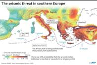 The seismic threat in southern Europe