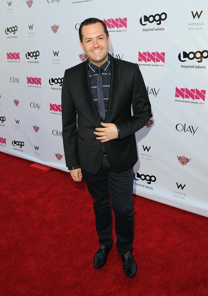 Ross Matthews arrives at LOGO's NewNowNext Awards at Avalon on April 5, 2012 in Hollywood, California.