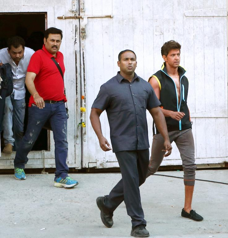 Hrithik Roshan's bodyguard Mayur has been by the actor's side for 10 years.