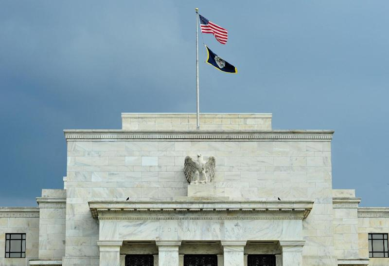 The US Federal Reserve building is seen in Washington, DC on August 9, 2011