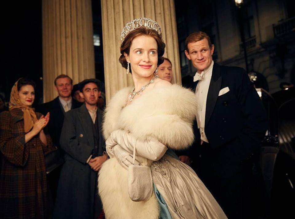 Claire Foy as Queen Elizabeth II in The Crown (Photo: Netflix)