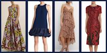 <p>Fall wedding season can be tricky—you want to look celebratory, but still keep things seasonal. Luckily there are plenty of solutions to keep you looking stylish at all the wedding services you attend this year: from inky fall florals, to punchy autumnal colors, to rich, cool-weather fabrics, these dresses will help you navigate even the trickiest autumn dress code with you fashion cred intact. </p>