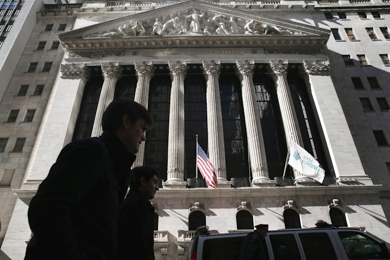 Protestors Rally At NYSE For Jobs And Unemployment Benefits