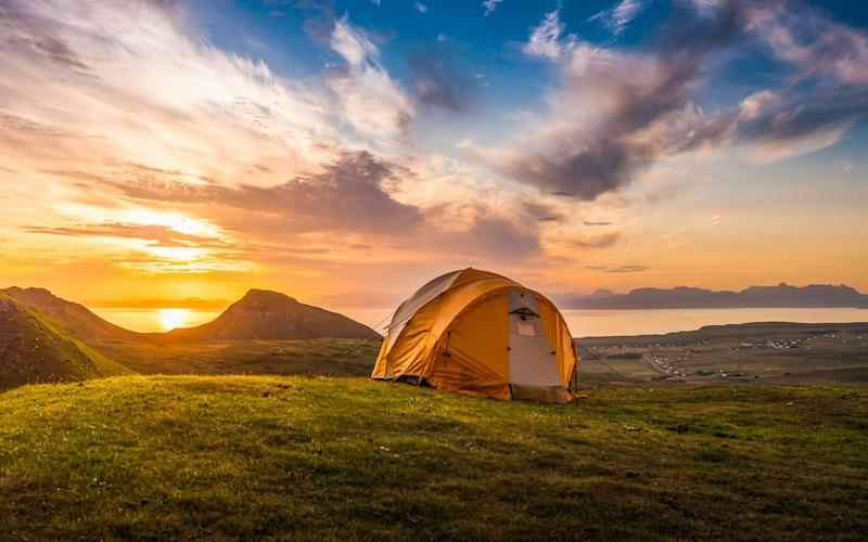 Wild camping - Getty