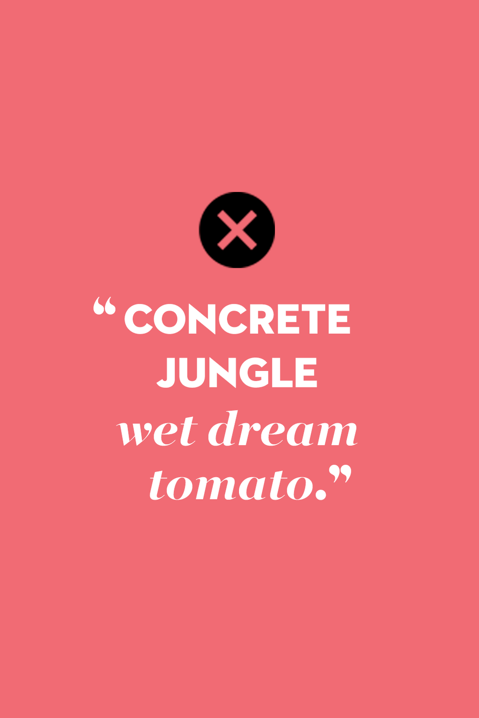 """<p>Alicia Keys believes the concrete jungle are """"where dreams are made of,"""" although New Yorkers can still find tomatoes.</p>"""