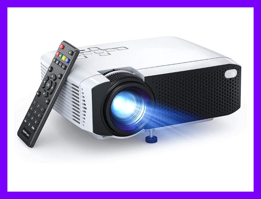 Save 54 percent on the APEMAN LC350 Mini Projector. (Photo: Amazon)