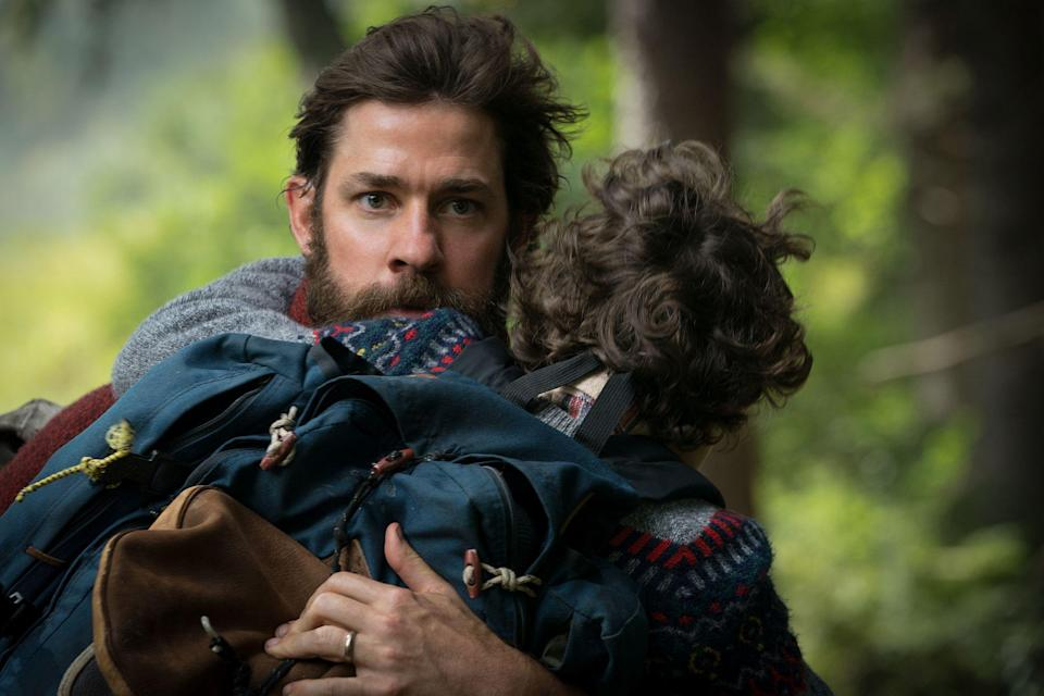 John Krasinski directed and starred in one of the surprise hits of the year – A Quiet Place