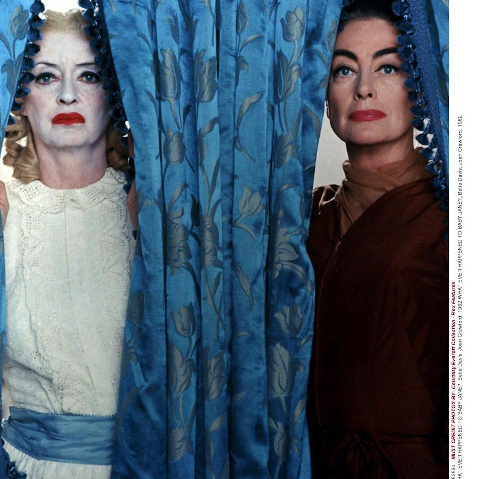 Bette Davis and Joan Crawford in 'What Ever Happened to Baby Jane?' - Rex