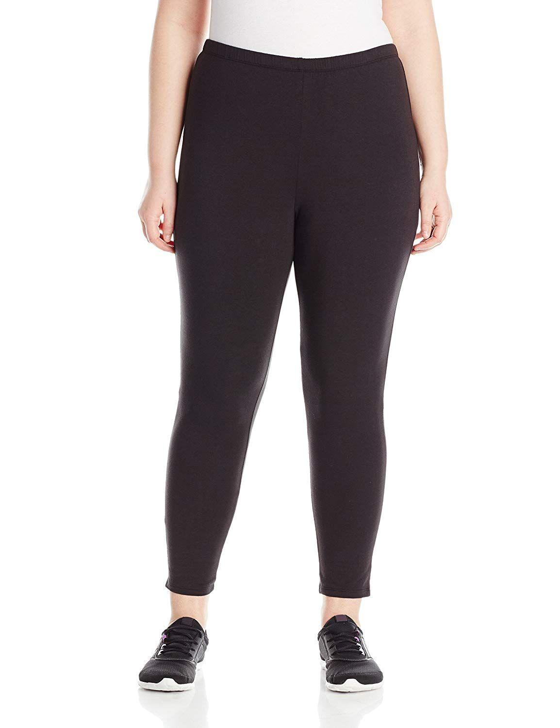 """<h3><a href=""""https://www.amazon.com/Just-My-Size-Plus-Size-Stretch/dp/B01B3IT512/"""" rel=""""nofollow noopener"""" target=""""_blank"""" data-ylk=""""slk:Just My Size Plus-Size Jersey Legging"""" class=""""link rapid-noclick-resp"""">Just My Size Plus-Size Jersey Legging</a> </h3> <p>3.9 out of 5 stars and 481 reviews</p> <p><strong>Promising Review:</strong> Consider this pair your new go-to for casual wear. <a href=""""https://www.amazon.com/gp/customer-reviews/R10VNC1MXTDNDC/"""" rel=""""nofollow noopener"""" target=""""_blank"""" data-ylk=""""slk:One reviewer says"""" class=""""link rapid-noclick-resp"""">One reviewer says </a> she lives in them because they don't fade with each wash. She also suggests this pair for shorter women: """"They are not paper thin like a lot of leggings. They have a little body to them, don't show every little 'bump' and are the perfect length for a short person. I like ankle length and that's where they come on me. I hope this style stays on Amazon so I can find them when I need them again.""""</p> <br> <br> <strong>Just My Size</strong> Plus-Size Stretch Jersey Legging, $11.07, available at <a href=""""https://www.amazon.com/Just-My-Size-Plus-Size-Stretch/dp/B01B3IT512/"""" rel=""""nofollow noopener"""" target=""""_blank"""" data-ylk=""""slk:Amazon"""" class=""""link rapid-noclick-resp"""">Amazon</a>"""