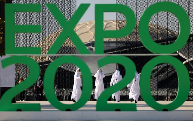Dubai Expo is set to open this week after a year-long postponement caused by the Covid-19 pandemic (AFP/Karim SAHIB)