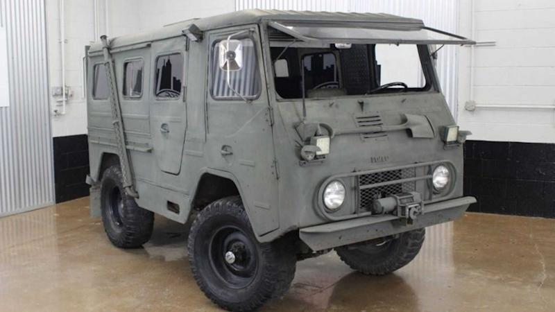 Conquer The Terrain With A 1963 Volvo L3314 Laplander Camper