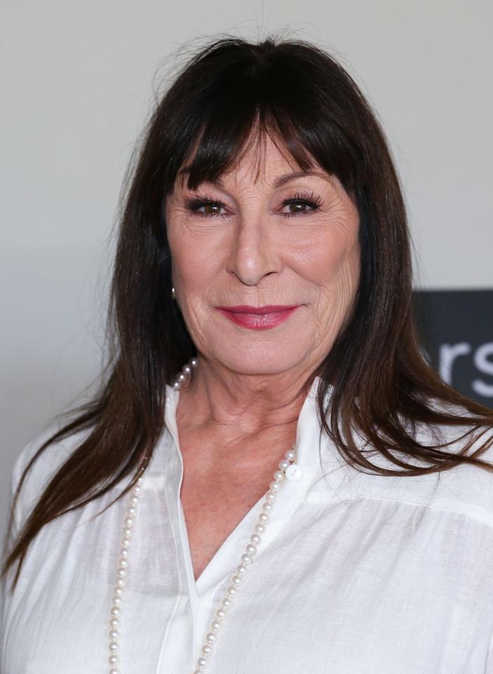 <p>As one of the most celebrated actors of our time, Huston has played countless award-winning roles - Maerose Prizzi in Prizzi's Honor, Miss Ernst in The Witches, Etheline Tenenbaum in The Royal Tenenbaums and Baroness Rodmilla de Ghent in Ever After, just to name a few. She's taken on several TV and movie roles in the last couple of years, including a guest role on the comedy Angie Tribeca. </p>