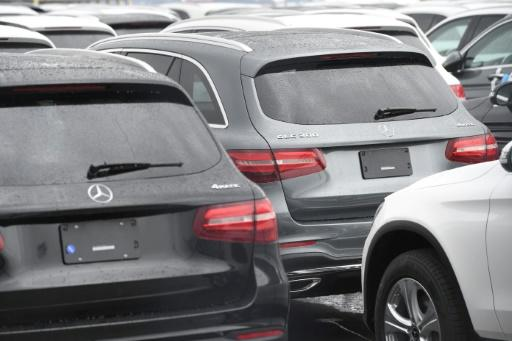 Shares of German automakers BMW and Daimler, owner of Mercedes-Benz, both jumped on the news of the tarif reduction