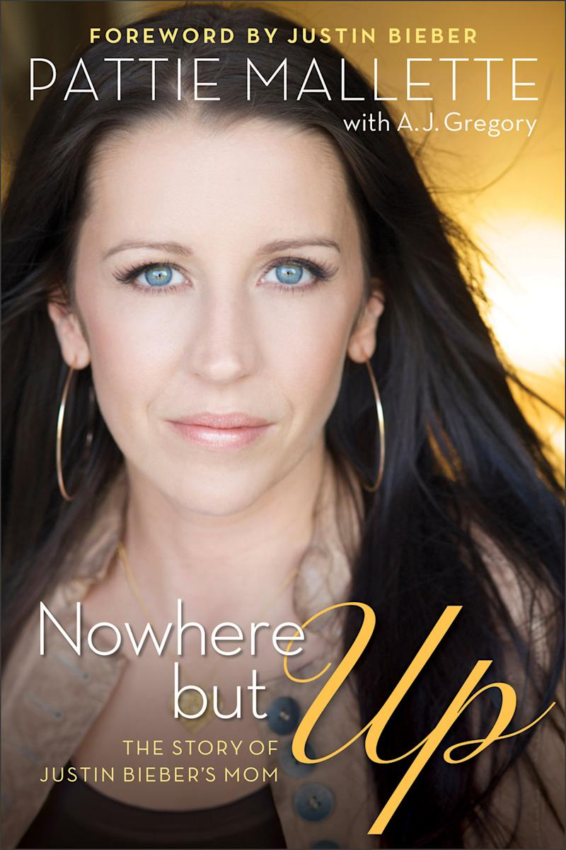 "This book cover image released by Revell Books shows ""Nowhere but Up: The Story of Justin Bieber's Mom,"" an autobiography by Pattie Mallette. The book was released on Sept. 18, 2012. (AP Photo/Revell)"