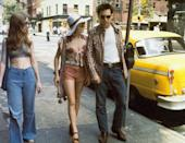 <p>Robert De Niro had a simple wardrobe in <em>Taxi Driver</em>, but it was certainly memorable. The actor's character had a grungy style that often included jeans, flannels, and army green jackets. </p>