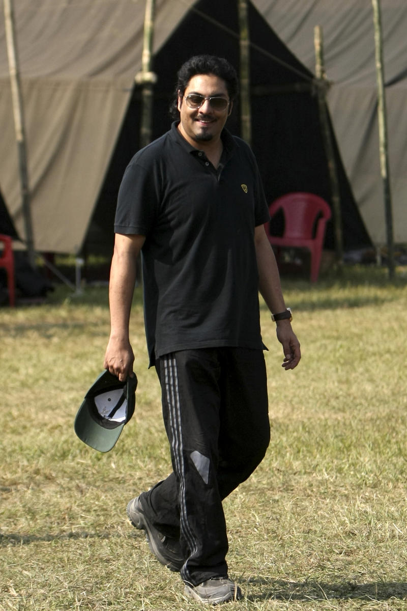 File photo of Nepalese former crown prince Paras Shah, who has been arrested on drugs charges in Thailand for a second time and could face up to five years in prison, police say