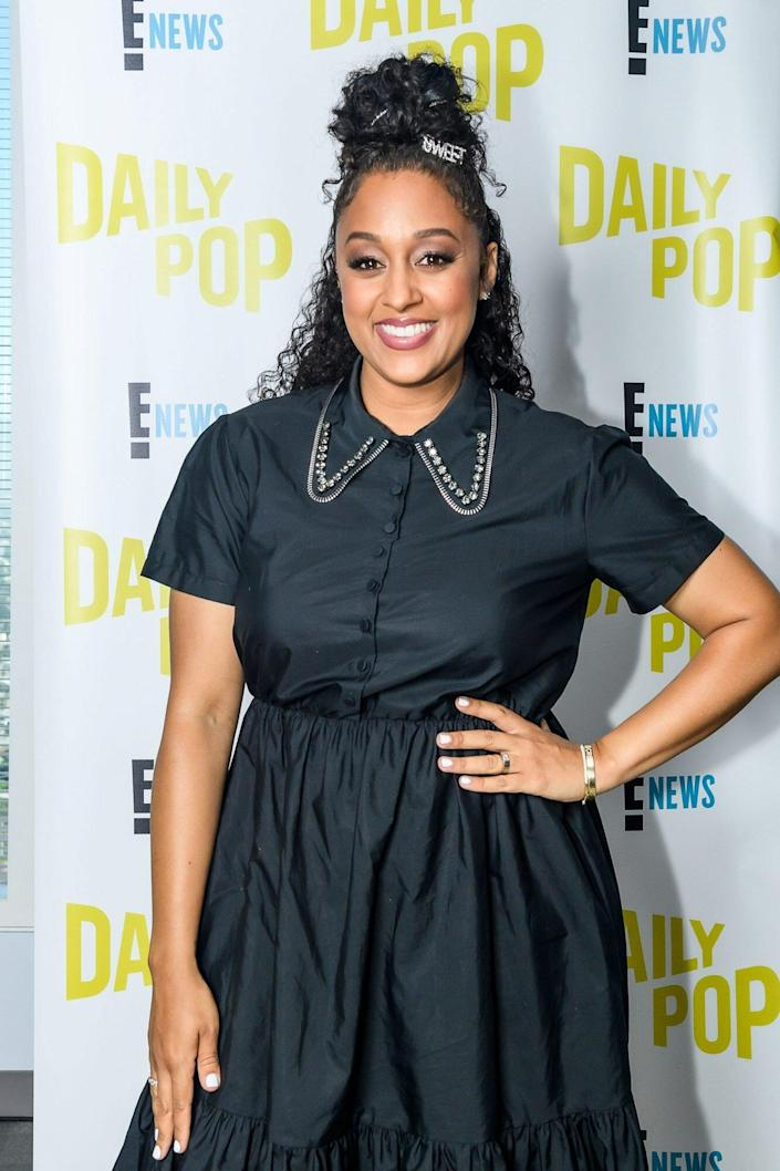 Tia Mowry Is Making the Case for Colorful Fall Makeup