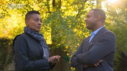 Robyn Crawford talks about her romance with Whitney Houston. (Photo: NBC News' Today/Dateline)