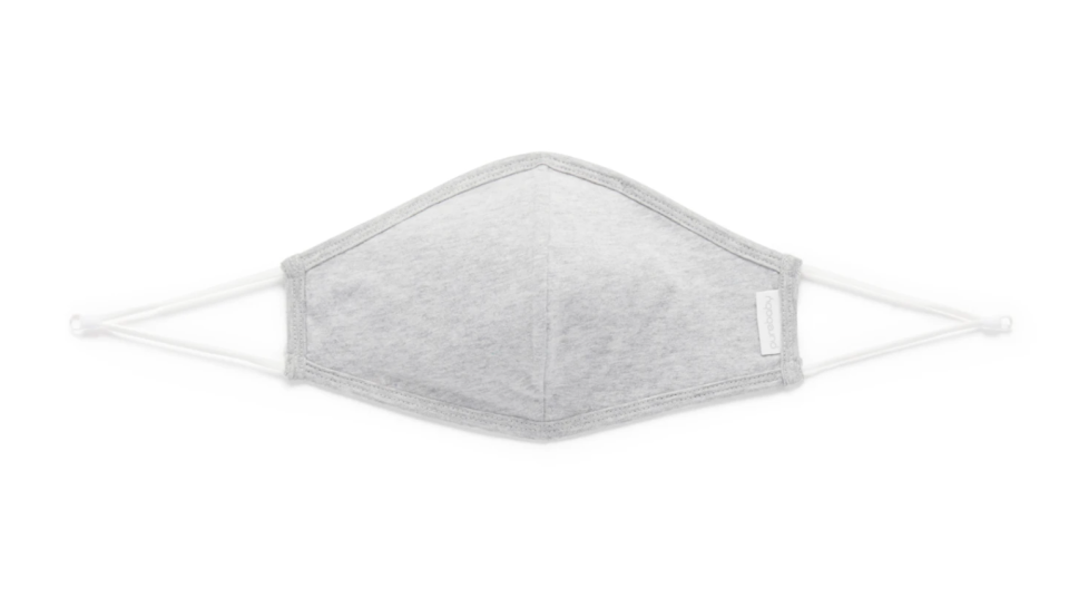 grey Pure Baby adult reusable cloth face mask