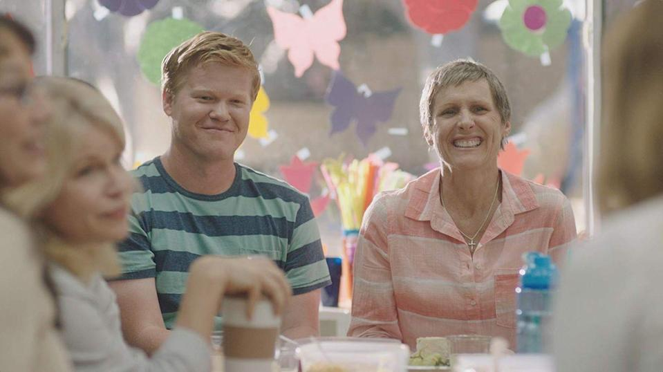 """<p>A struggling comedy writer returns home to care for his mom as she undergoes treatment for breast cancer. Their lack of acceptance of his sexuality has strained the family's relationship, but as they spend more time together, they both remember how much those relationships mean. Grab the tissues before you hit Play — trust us. </p><p><a class=""""link rapid-noclick-resp"""" href=""""https://www.netflix.com/title/80098288"""" rel=""""nofollow noopener"""" target=""""_blank"""" data-ylk=""""slk:STREAM NOW"""">STREAM NOW</a></p>"""
