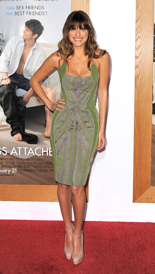 """<a href=""""http://movies.yahoo.com/movie/contributor/1808924254"""">Lake Bell</a> attends the Los Angeles premiere of <a href=""""http://movies.yahoo.com/movie/1810159162/info"""">No Strings Attached</a> on January 11, 2011."""