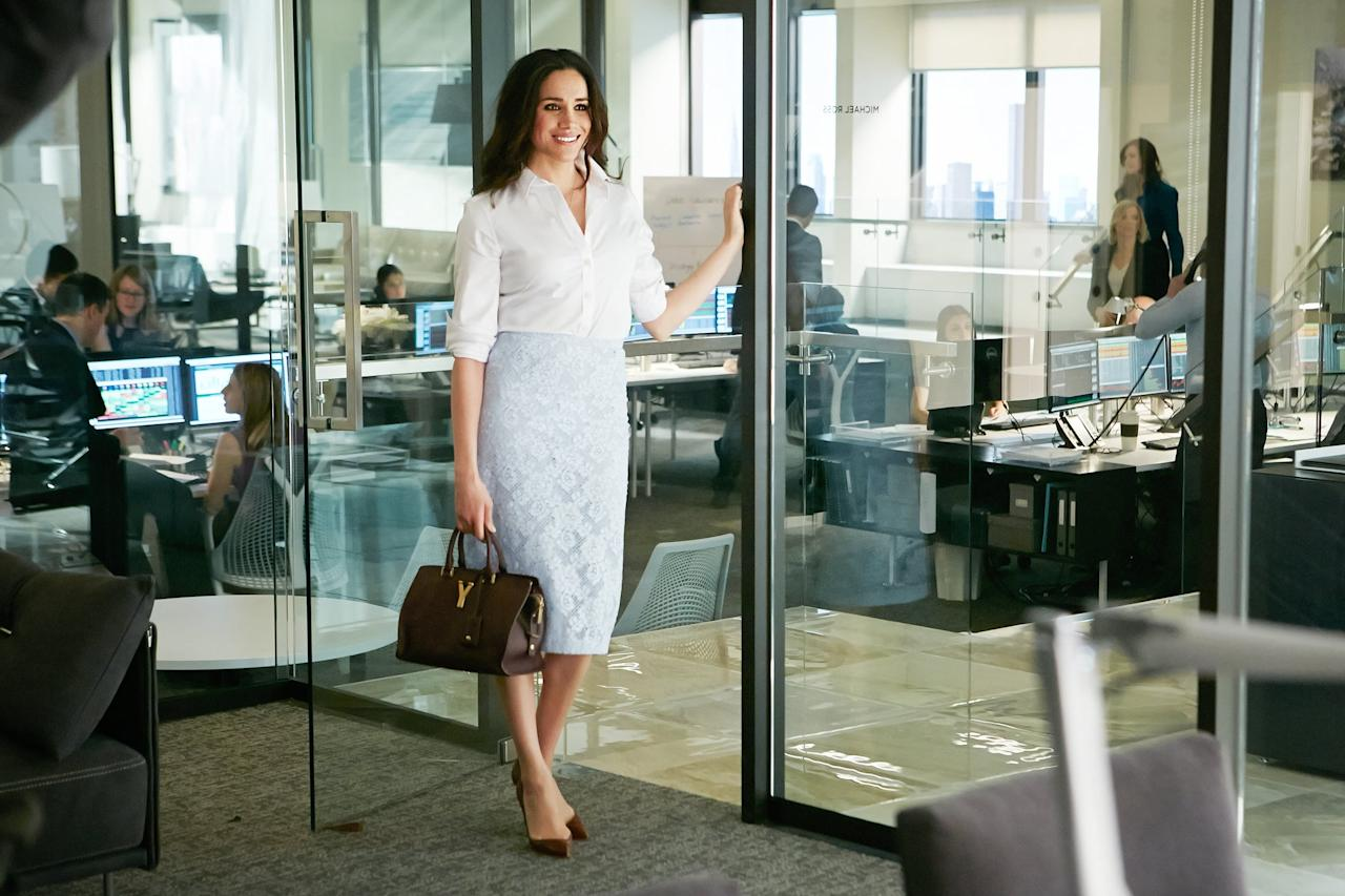 """<ul> <li><strong>Suits: </strong>Markle is best known for her role as <a rel=""""nofollow"""" href=""""https://www.popsugar.com/entertainment/Meghan-Markle-Suits-Pictures-44361269"""">paralegal Rachel Zane</a> on the USA legal drama series. Even though she's no longer on the show and this is <a rel=""""nofollow"""" href=""""https://www.popsugar.com/entertainment/When-Suits-End-45703781"""">the series's final season</a>, you can still watch past episodes starring Markle on <a rel=""""nofollow"""" href=""""https://www.popsugar.com/buy?url=https%3A%2F%2Fwww.amazon.com%2Fgp%2Fvideo%2Fdetail%2FB005544TRQ%2Fref%3Datv_dp_season_select_atf&p_name=Amazon%20Prime&retailer=amazon.com&evar1=buzz%3Aus&evar9=45910250&evar98=https%3A%2F%2Fwww.popsugar.com%2Fentertainment%2Fphoto-gallery%2F45910250%2Fimage%2F45910297%2FTV-Shows&list1=meghan%20markle&prop13=mobile&pdata=1"""" rel=""""nofollow"""">Amazon Prime</a>, <a rel=""""nofollow"""" href=""""http://itunes.apple.com/us/tv-season/suits-season-1/id439826355"""">iTunes</a>, <a rel=""""nofollow"""" href=""""http://play.google.com/store/tv/show?id=O58aI3JQKeo&cdid=tvseason-qdW6ra7GmH0"""">Google Play</a>, <a rel=""""nofollow"""" href=""""http://www.vudu.com/content/movies/details/Suits-Season-1/208112"""">Vudu</a>, and <a rel=""""nofollow"""" href=""""http://www.youtube.com/playlist?list=ELqdW6ra7GmH0"""">YouTube</a>. </li> </ul>"""