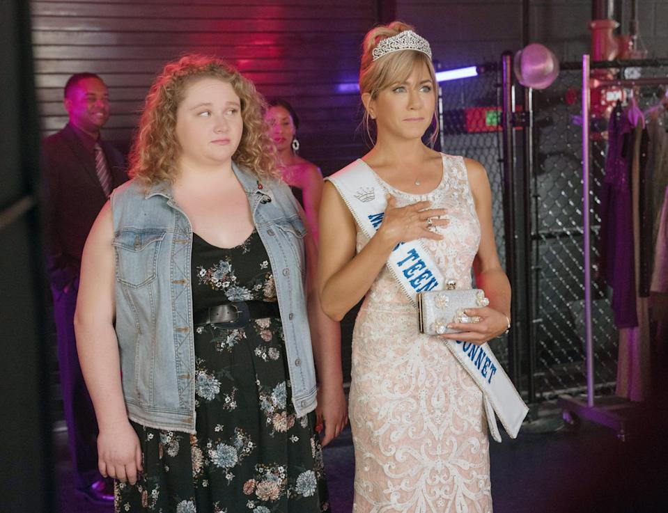 """<p>A teenage girl whose mom is a leader in the pageant community decides to enter a pageant as a protest, but ends up learning a lot about herself and her mom along the way. Plus, <a href=""""https://www.popsugar.com/entertainment/Dumplin-Movie-Soundtrack-45547020"""" class=""""link rapid-noclick-resp"""" rel=""""nofollow noopener"""" target=""""_blank"""" data-ylk=""""slk:Dolly Parton did the soundtrack"""">Dolly Parton did the soundtrack</a>!</p> <p>Watch <a href=""""http://www.netflix.com/title/80201490"""" class=""""link rapid-noclick-resp"""" rel=""""nofollow noopener"""" target=""""_blank"""" data-ylk=""""slk:Dumplin'""""><strong>Dumplin'</strong></a> on Netflix now.</p>"""