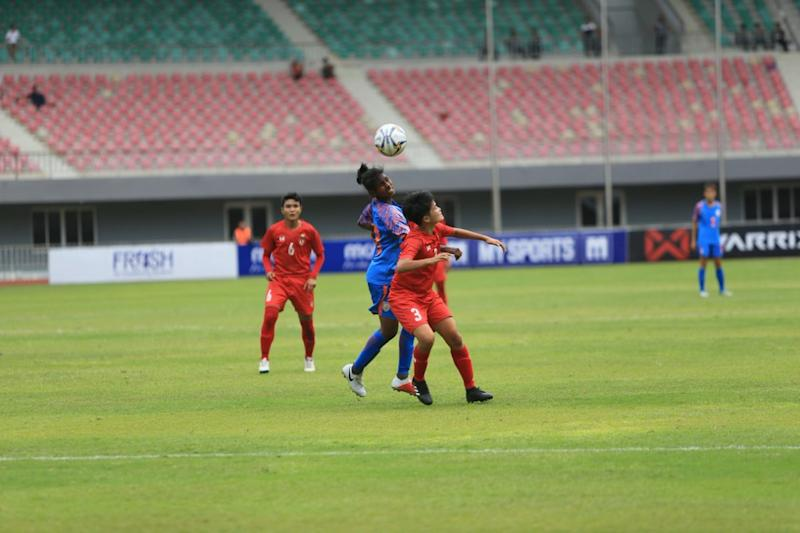 India bow out of Olympic qualifiers after drawing 3-3 against Myanmar