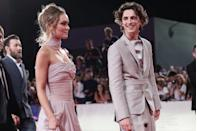 """<p>Timothée Chalamet and Lily-Rose Depp seemingly got together around the time they were promoting their movie, <em>The King, </em>which fans often take as a tell-tale sign of a PR relationship. Then, photos of<a href=""""https://www.eonline.com/news/1071519/timothee-chalamet-and-lily-rose-depp-s-makeout-session-is-definitely-nsfw"""" rel=""""nofollow noopener"""" target=""""_blank"""" data-ylk=""""slk:the two making out on a boat in France"""" class=""""link rapid-noclick-resp""""> the two making out on a boat in France</a> were published, and many assumed they were staged. Timothée, though, told <em><a href=""""https://www.gq.com/story/timothee-chalamet-november-2020-cover-profile"""" rel=""""nofollow noopener"""" target=""""_blank"""" data-ylk=""""slk:GQ"""" class=""""link rapid-noclick-resp"""">GQ</a> </em>in October 2020 that he """"really loved"""" Lily and the photos were not for publicity. Recently, there have even been <a href=""""https://www.etonline.com/timothee-chalamet-and-lily-rose-depp-spotted-shopping-together-amid-reconciliation-rumors-164271"""" rel=""""nofollow noopener"""" target=""""_blank"""" data-ylk=""""slk:rumors that the couple is back together,"""" class=""""link rapid-noclick-resp"""">rumors that the couple is back together,</a> but nothing has been confirmed. </p>"""