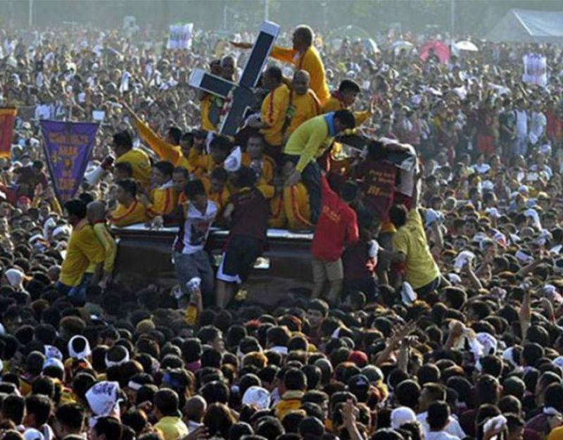 Church vicar: Devotees may touch Black Nazarene image during procession