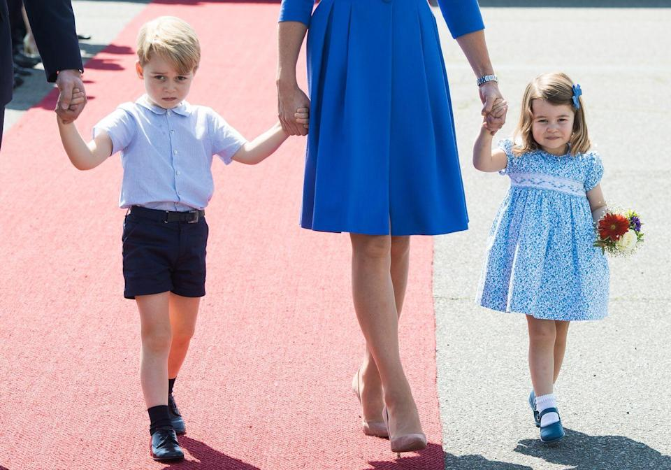 """<p>Princesses typically get the short end of the stick when it comes to the line of succession, but thanks to the <a href=""""https://www.bbc.com/news/uk-32073399"""" rel=""""nofollow noopener"""" target=""""_blank"""" data-ylk=""""slk:Succession to the Crown Act of 2013"""" class=""""link rapid-noclick-resp"""">Succession to the Crown Act of 2013</a>, Princess Charlotte became the first princess whose position in line for the crown would not be overtaken by the birth of a second male heir.</p>"""