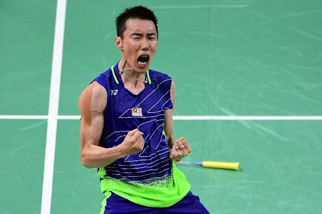 Badminton player Lee Chong Wei is a national hero in Malaysia. (AFP Photo/EMMANUEL DUNAND)