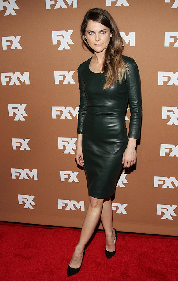 NEW YORK, NY - MARCH 28:  Keri Russell attends the 2013 FX Upfront Bowling Event at Luxe at Lucky Strike Lanes on March 28, 2013 in New York City.  (Photo by Rob Kim/FilmMagic)
