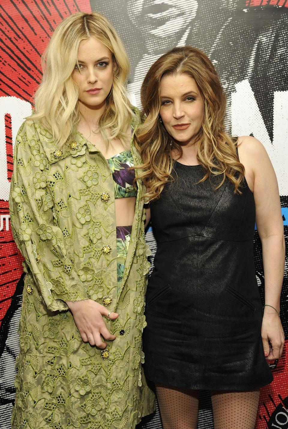 """<p><strong>Famous parent(s)</strong>: singer Lisa Marie Presley <br><strong>What it was like</strong>: """"People always ask, 'How crazy is it that your grandpa was Elvis and your stepdad was Michael Jackson?' I make them happy and say, 'Yeah, it's soooo crazy!'"""" she's <a href=""""http://us.hellomagazine.com/celebrities/12016021911850/riley-keough-on-being-related-to-Elvis-Presley-Michael-Jackson/"""" rel=""""nofollow noopener"""" target=""""_blank"""" data-ylk=""""slk:said"""" class=""""link rapid-noclick-resp"""">said</a>. """"The reality is I know as much about my grandpa as you'd know about a grandpa you never met. I remember this Disney watch that Michael gave me. I think I sold that for five (dollars).""""</p>"""