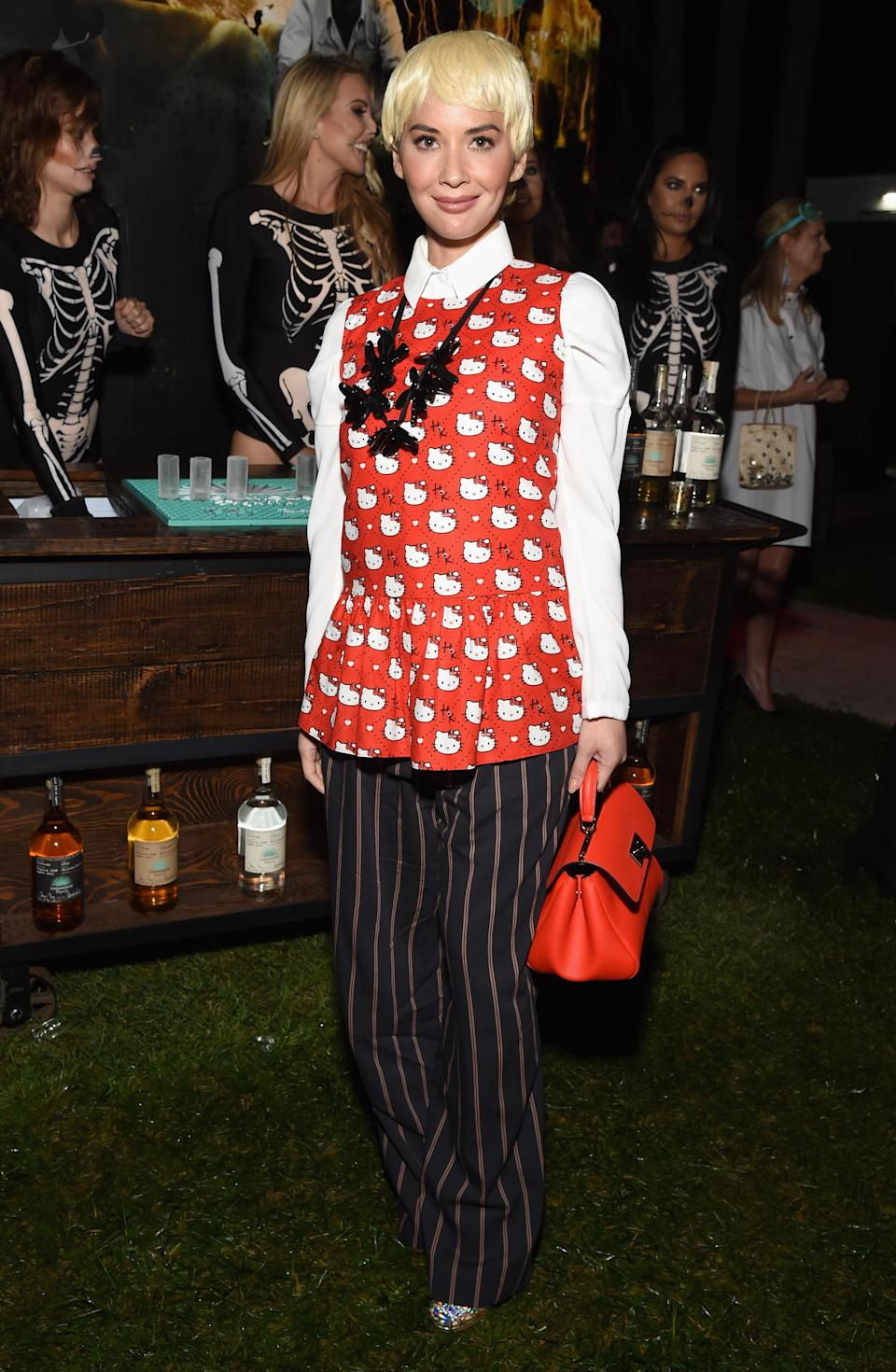 <p>Olivia Munn was hands down one of the best dressed attendees at the annual Casamigos party, as the actress looked remarkably like Goh Peik Lin from hit film 'Crazy Rich Asians' <em>[Photo: Getty]</em> </p>