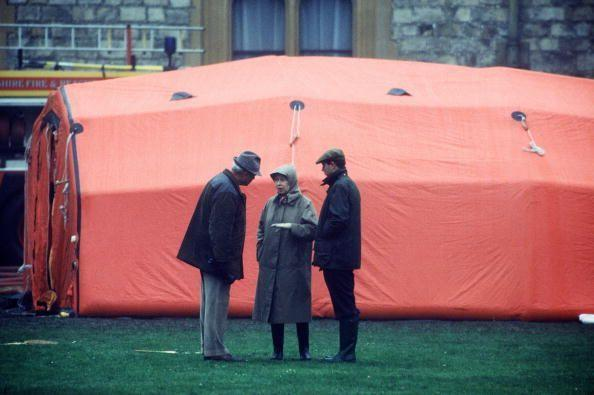 """<p>Princess Anne and Captain Phillips divorce, the Prince and Princess of Wales and the Duke and Duchess of York separate, and, on top of that, Windsor Castle catches fire. This year would end up being referred to as the Queen's """"annus horribilis.""""</p>"""