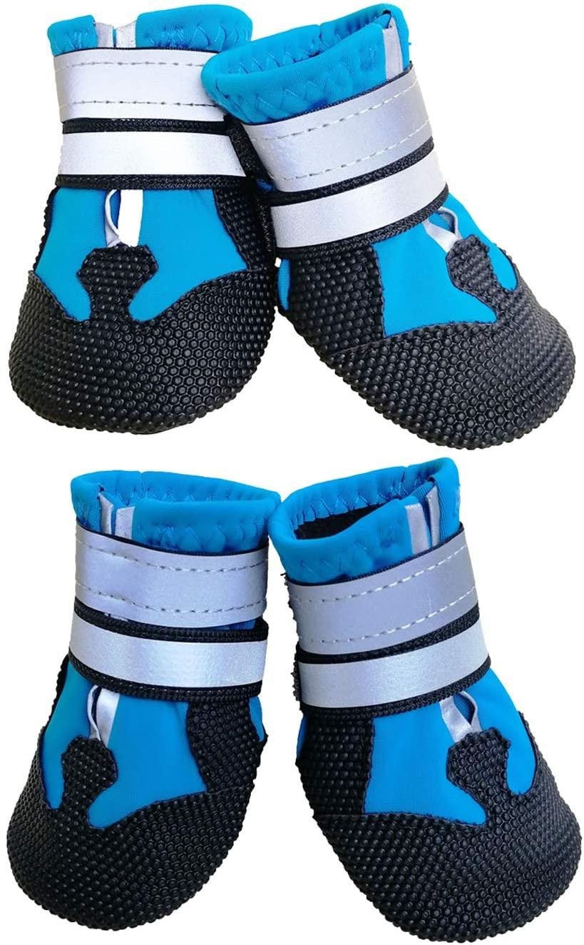 Ewolee Dog Shoes, Waterproof Anti-Slip Dog Boots - available on Amazon.