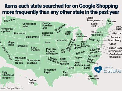'Boyfriend arm pillow' and Florida's 6 other most-googled shopping terms