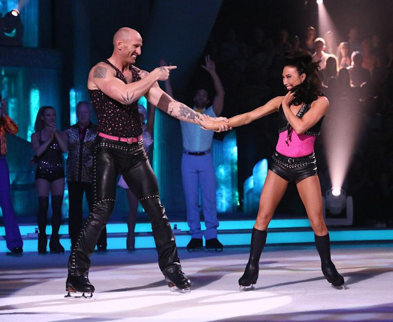 Gareth Thomas had been doing brilliantly in 2013's series of 'Dancing On Ice', until he was hit with a bout of motion sickness while performing a 'flying' routine and was advised to bow out of the contest.