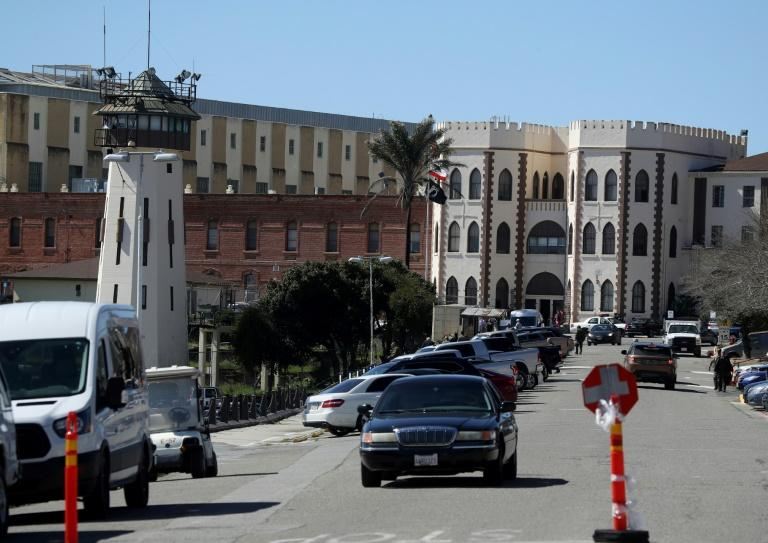 California's San Quentin State Prison is among those holding inmates in the most populous US state