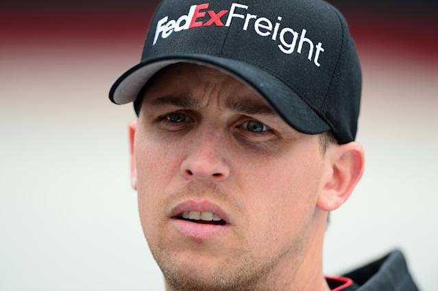 Denny Hamlin misses race at Auto Club, Sam Hornish Jr. fills in