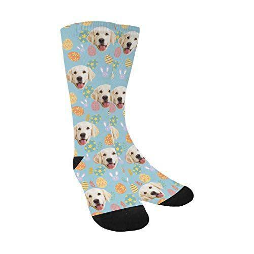 """<p><strong>MyPupSocks</strong></p><p>amazon.com</p><p><strong>$15.59</strong></p><p><a href=""""https://www.amazon.com/dp/B084ZDWHWQ?tag=syn-yahoo-20&ascsubtag=%5Bartid%7C10072.g.35448928%5Bsrc%7Cyahoo-us"""" rel=""""nofollow noopener"""" target=""""_blank"""" data-ylk=""""slk:SHOP NOW"""" class=""""link rapid-noclick-resp"""">SHOP NOW</a></p><p>You can't go wrong with something funny <em>and </em>functional—take these socks, for example. Personalize them with any special mug, be it their dog or partner. </p>"""