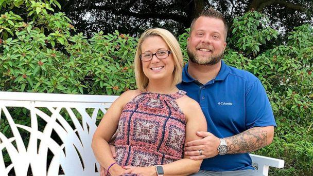 PHOTO: Brent Walker of Cleveland, Tennessee, is seen in 2019 with his wife, Ashley Walker. (Brent Walker)